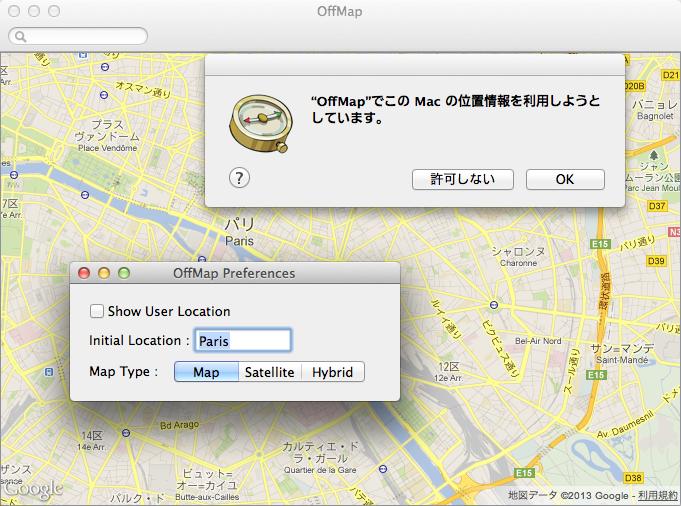 Offmap