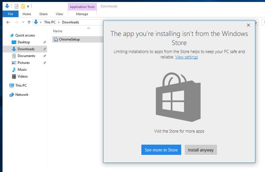Windows 10、Win32アプリのインストールを拒否する新機能が実装予定