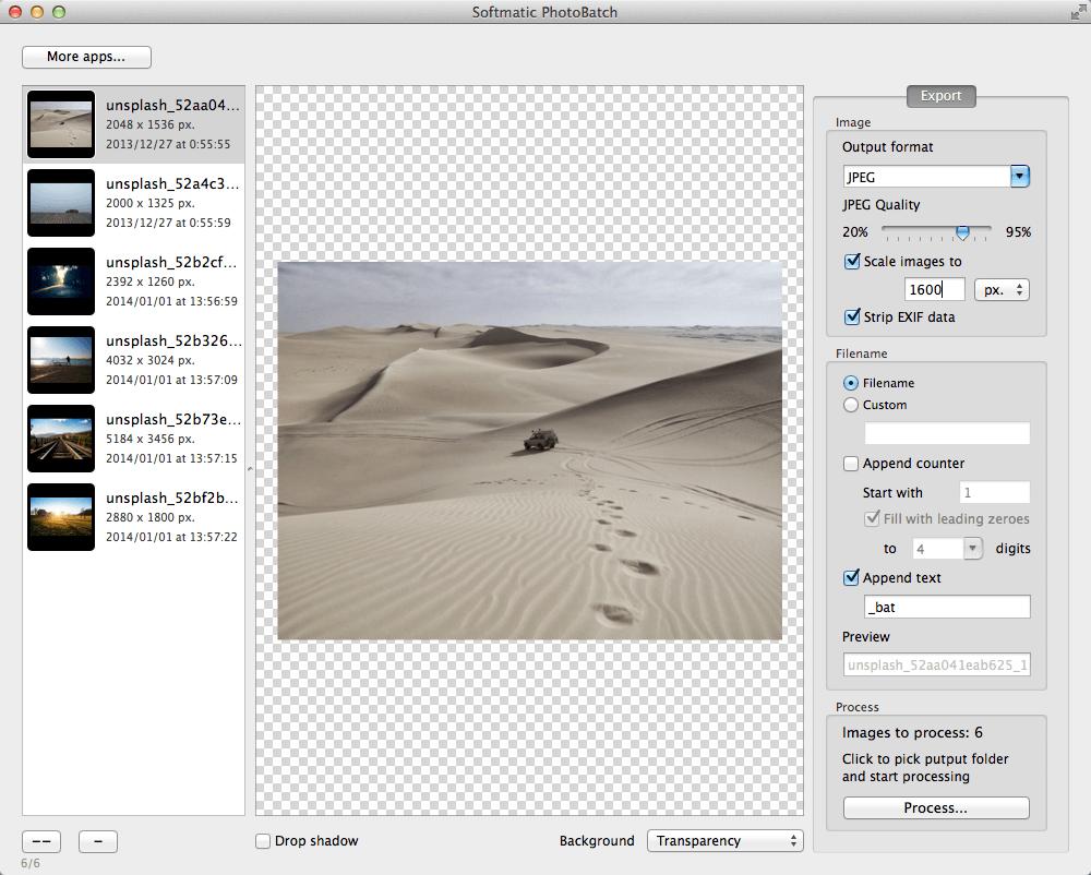 Mac PhotoBatch
