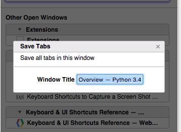 ChromeTab Tabli Bookmarks 02