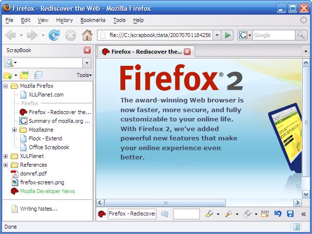 FirefoxAddons ScrapBook 02
